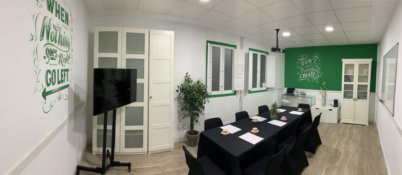 Alquiler sala reunión en zona retiro